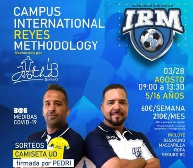 Tinajo acogerá en agosto el I Campus International Reyes Methodology